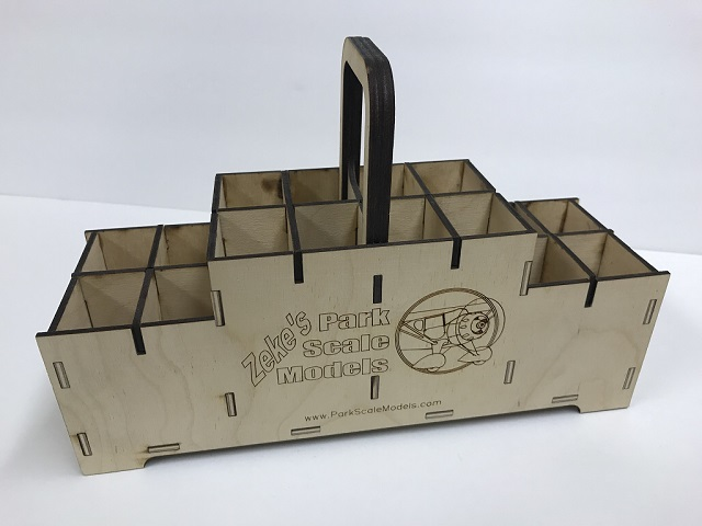 .30 Cal. Ammo Box Battery Caddy